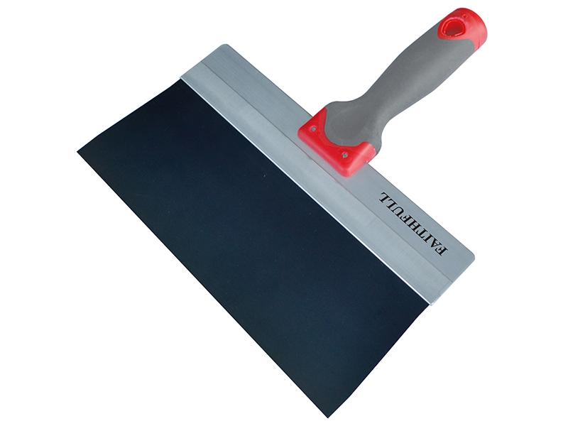 Thumbnail image of Faithfull Drywall Taping Knife Blue Steel 300mm (12in)
