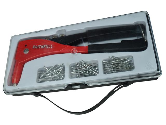 Thumbnail image of Faithfull Heavy-Duty Riveter Kit