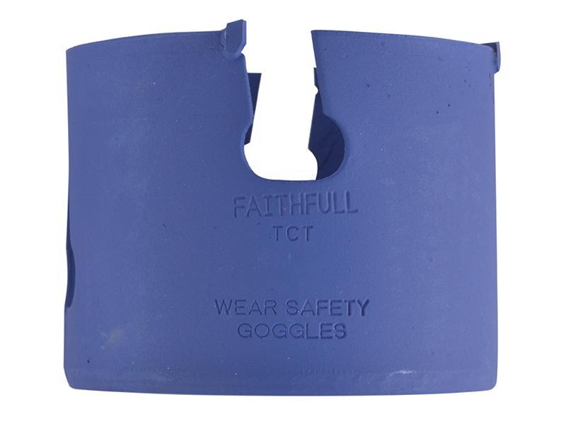 Thumbnail image of Faithfull Multi-Purpose TCT Holesaw 4 Tip 89mm