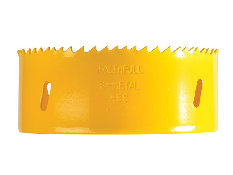 Thumbnail image of Faithfull Bi-Metal Cobalt Holesaw 105mm