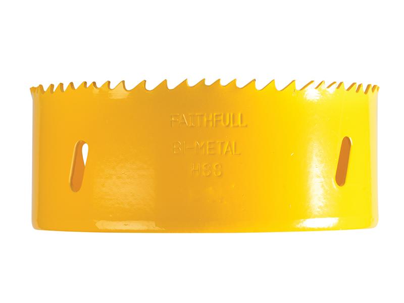 Thumbnail image of Faithfull Bi-Metal Cobalt Holesaw 111mm