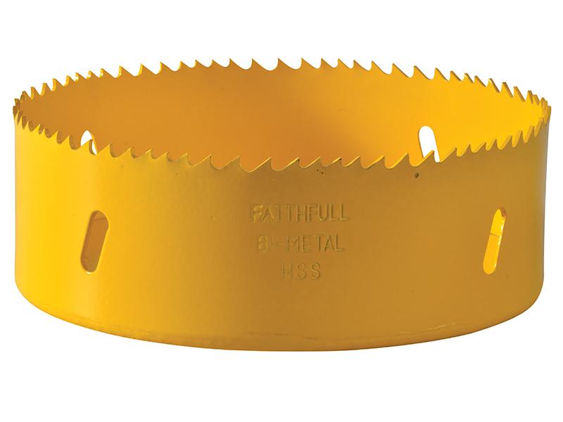 Thumbnail image of Faithfull Bi-Metal Cobalt Holesaw 121mm