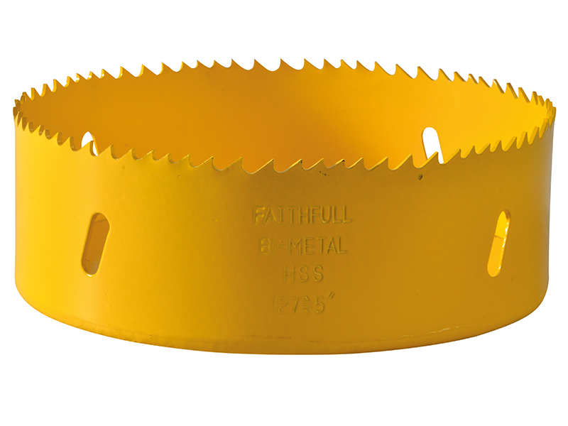 Thumbnail image of Faithfull Bi-Metal Cobalt Holesaw 127mm
