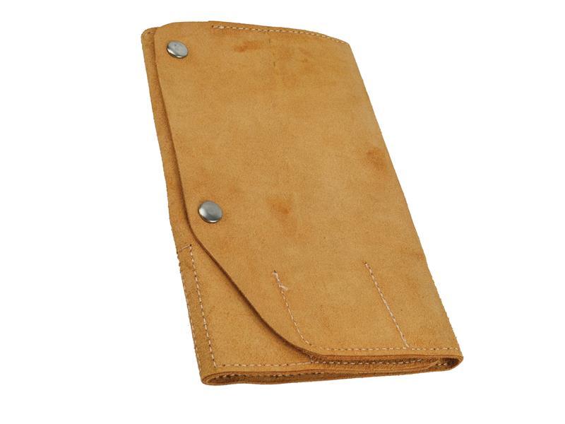 Thumbnail image of Faithfull 10 Pocket Leather Tool Roll 48 x 27cm
