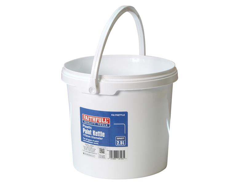 Thumbnail image of Faithfull Paint Kettle Plastic 2.5 litre