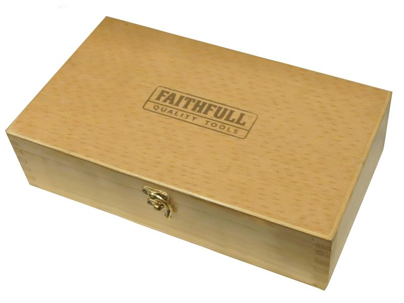 Thumbnail image of Faithfull No.4 Smoothing Plane in Wooden Box