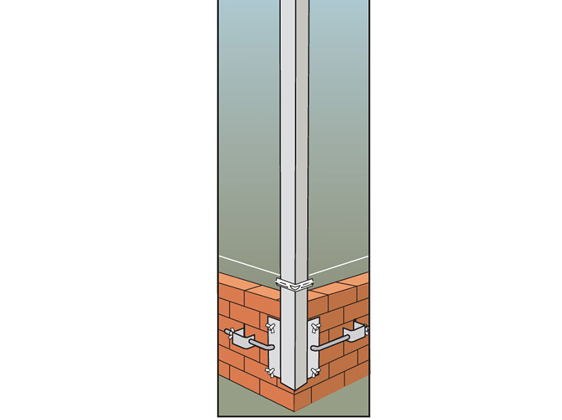 Thumbnail image of Faithfull External Building Profiles 2m (78in) and Fittings
