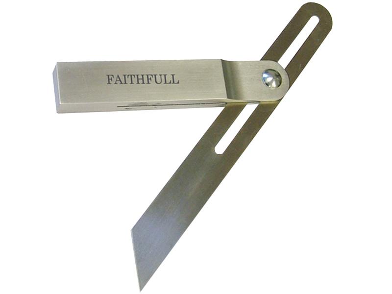 Thumbnail image of Faithfull Aluminium Sliding Bevel Stainless Steel Blade 250mm (9.3/4in)