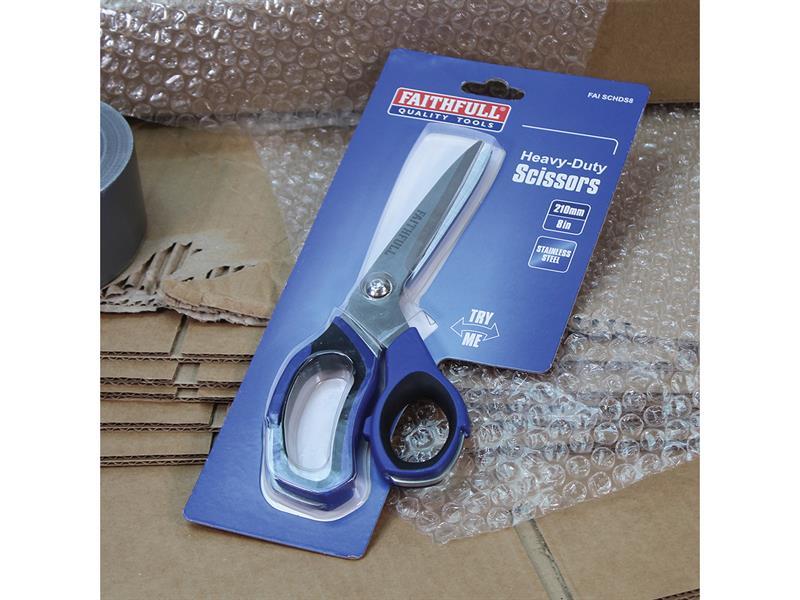 Thumbnail image of Faithfull Heavy-Duty Scissors 200mm (8in)