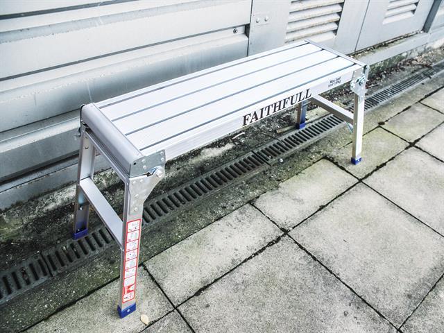 Thumbnail image of Faithfull Fold Away Step Up Aluminium L100 x H52 x W30cm