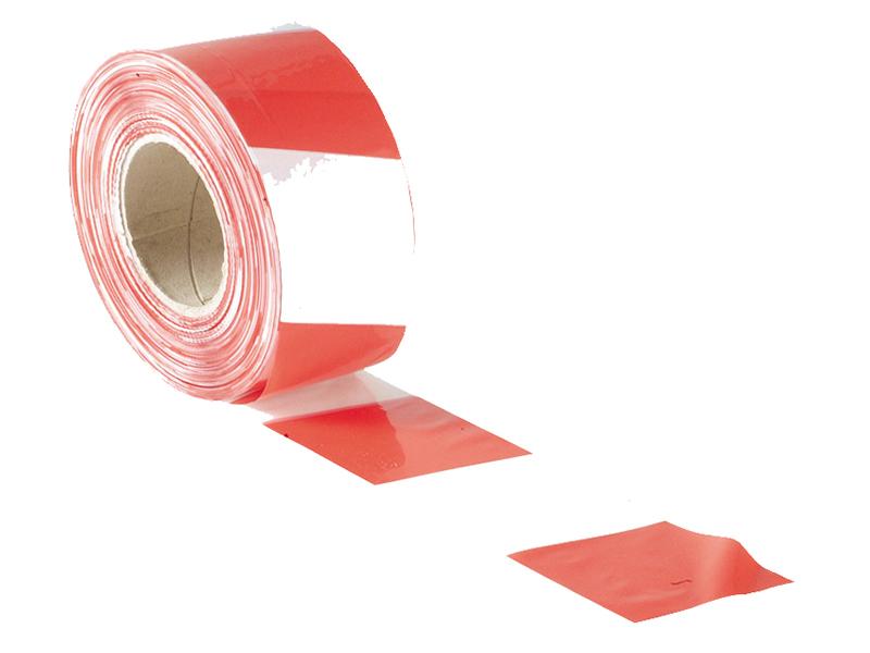 Thumbnail image of Faithfull Barrier Tape 70mm x 500m Red & White