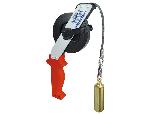 Thumbnail image of Faithfull Dipping Tape Measure With Weight 30m