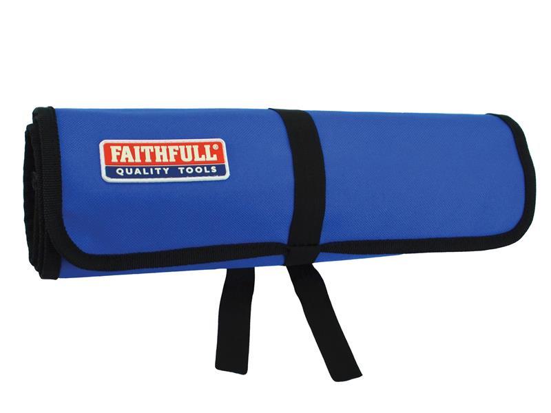 Thumbnail image of Faithfull 15 Pocket Tool Roll 32 x 77cm