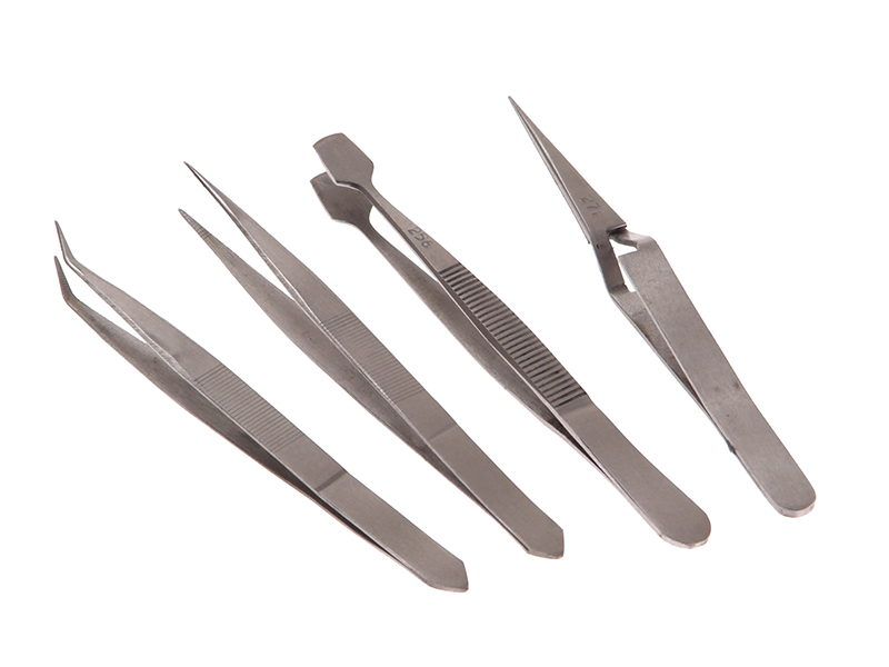 Thumbnail image of Faithfull Tweezer Set, 4 Piece