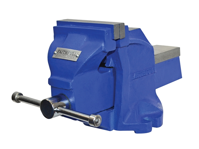 Thumbnail image of Faithfull Mechanic's Bench Vice 100mm (4in)