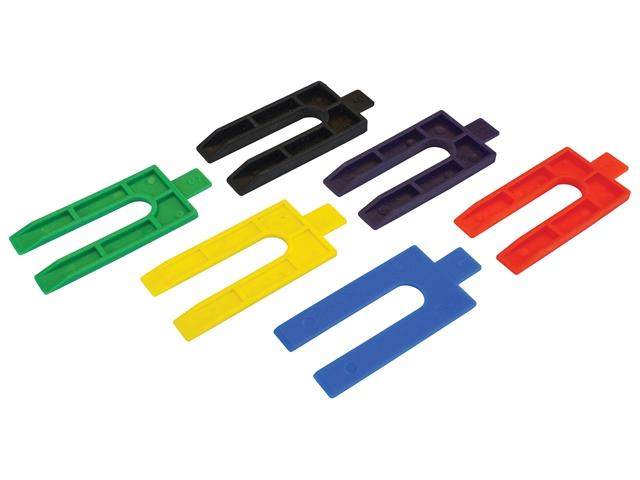 Thumbnail image of Faithfull Plastic Packing Wedges Mixed (Pack 100)