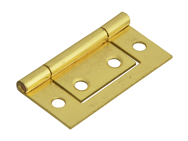 Thumbnail image of Forge Flush Hinge Brass Finish 50mm (2in) (Pack 2)