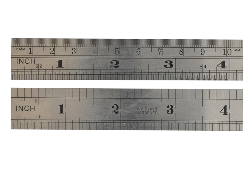 Thumbnail image of Fisher F124MEe Steel Rule 600mm / 24in