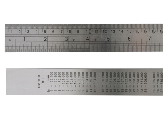 Thumbnail image of Fisher F39ME Steel Rule 1 metre / 39in