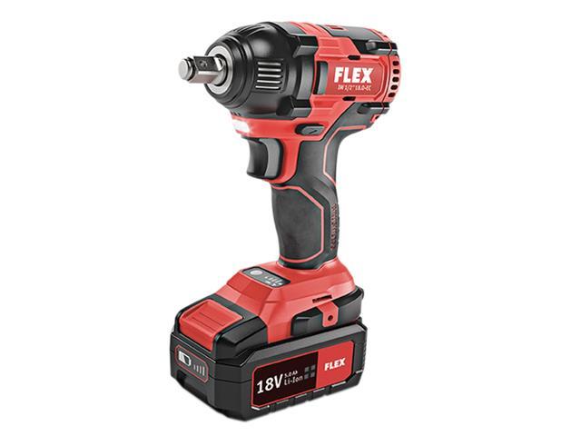 Thumbnail image of Flex IW 1/2 18.0-EC Brushless Impact Wrench 18V 2 x 5.0Ah Li-ion