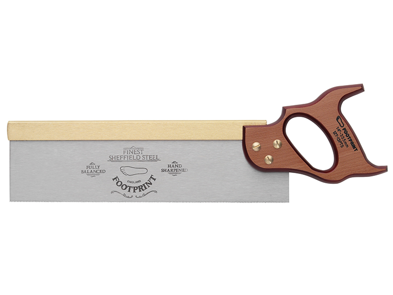 Thumbnail image of Footprint 256 Brass Back Tenon Saw 300mm (12in) 13 TPI