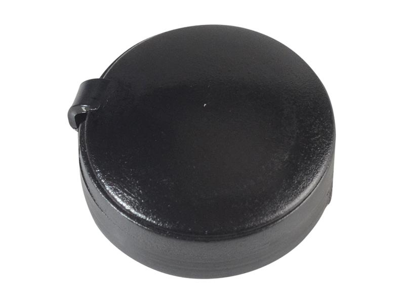 Thumbnail image of ForgeFix Hinged Cover Cap Black No. 6-8 Bag 100
