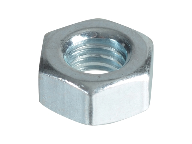 Thumbnail image of ForgeFix Hexagonal Nuts & Washers ZP M6 ForgePack 25