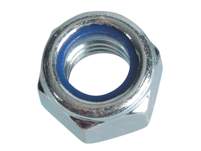 Thumbnail image of ForgeFix Nyloc Nuts & Washers Zinc Plated M12 ForgePack 6