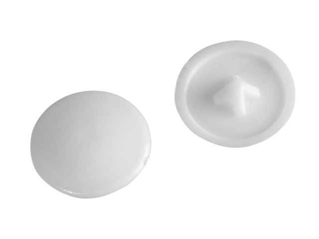 Thumbnail image of ForgeFix Pozi Compatible Cover Cap White No.6-8 Forge Pack 50