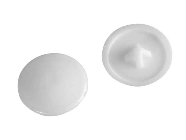 Thumbnail image of ForgeFix Domed Cover Cap White No. 6-8 Forge Pack 20