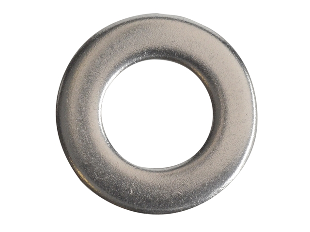 Thumbnail image of ForgeFix Flat Washers DIN125 A2 Stainless Steel M10 ForgePack 20
