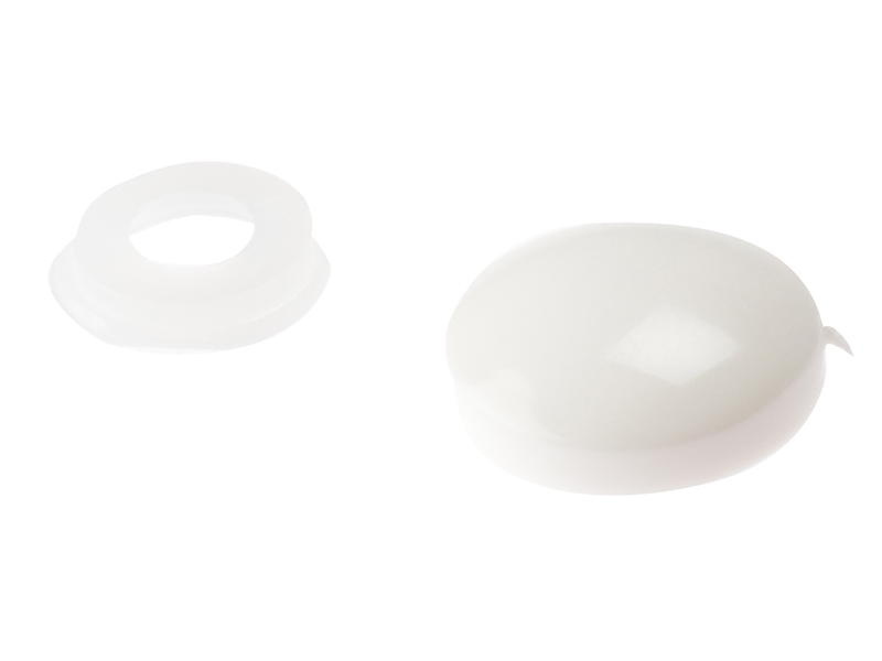 Thumbnail image of ForgeFix Domed Cover Cap White No. 6-8 Bag 25