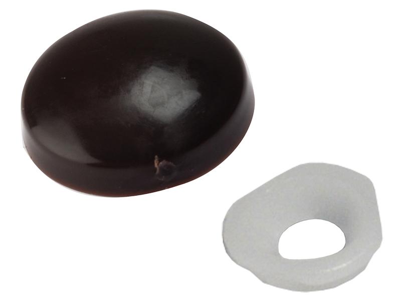 Thumbnail image of ForgeFix Domed Cover Cap Black No. 6-8 Bag 25