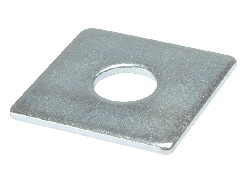 Thumbnail image of ForgeFix Square Plate Washer ZP 50 x 50 x 12mm Bag 10