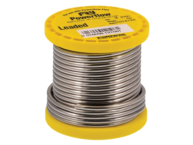 Thumbnail image of Frys Metals Powerflow Solder Wire 3mm 250g