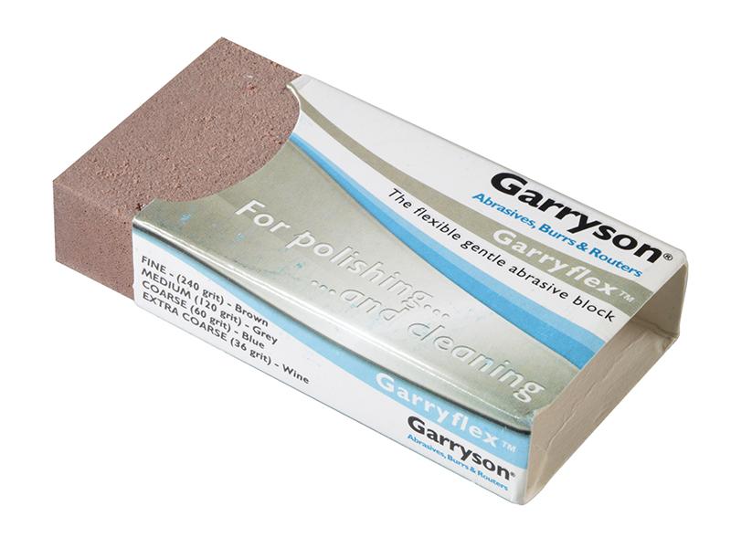 Thumbnail image of Garryson Garryflex™ Abrasive Block - Fine 240 Grit (Brown)