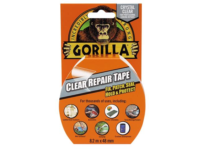 Thumbnail image of Gorilla Gorilla Tape® 48mm x 8.2m Crystal Clear