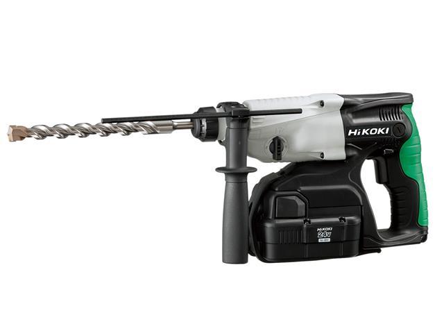 Thumbnail image of HiKOKI DH24DVC SDS Plus Hammer Drill 3-Mode 24V 2 x 2.0Ah NiMH