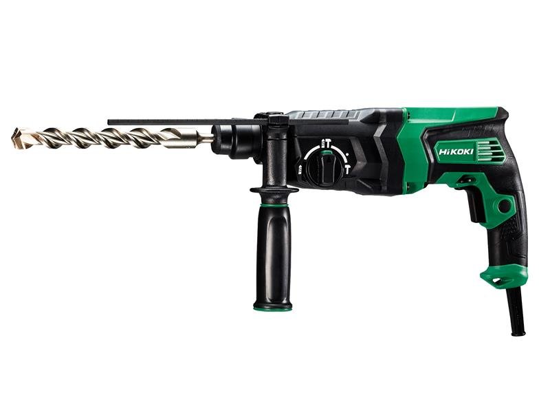 Thumbnail image of HiKOKI DH26PX2 SDS Plus Rotary Hammer Drill 830W 240V