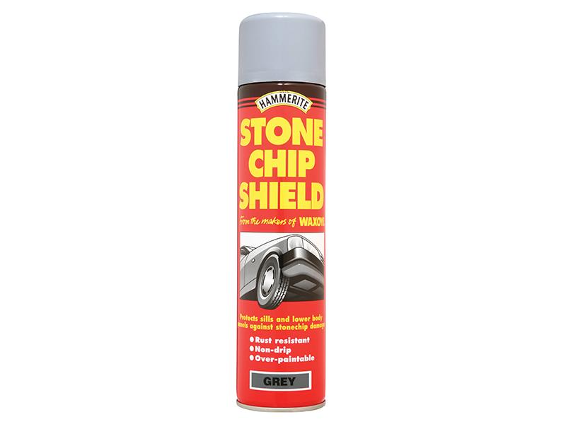 Thumbnail image of Hammerite Stonechip Shield White Aerosol 600ml