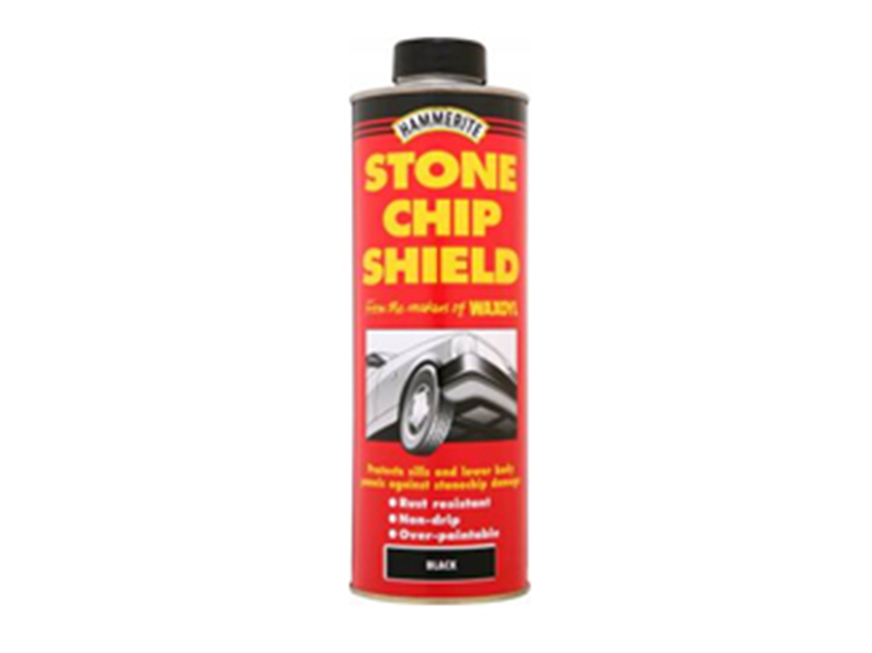 Thumbnail image of Hammerite Stonechip Shield Black Schutz 1 Litre