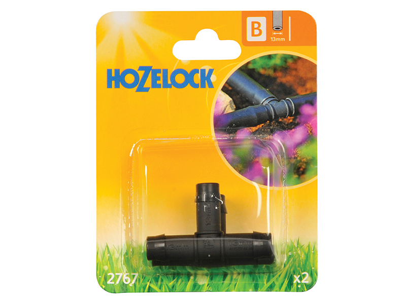 Thumbnail image of Hozelock T Piece 13mm (2 Pack)