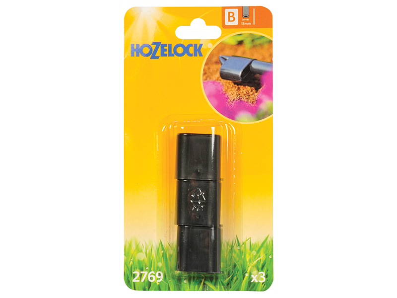 Thumbnail image of Hozelock End Plug 13mm (3 Pack)
