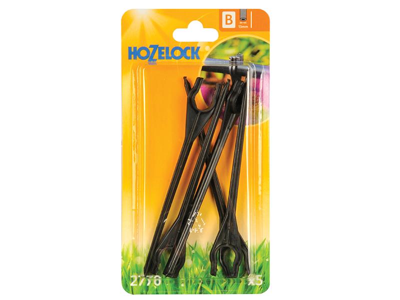 Thumbnail image of Hozelock Tube Stakes 13mm (5 Pack)