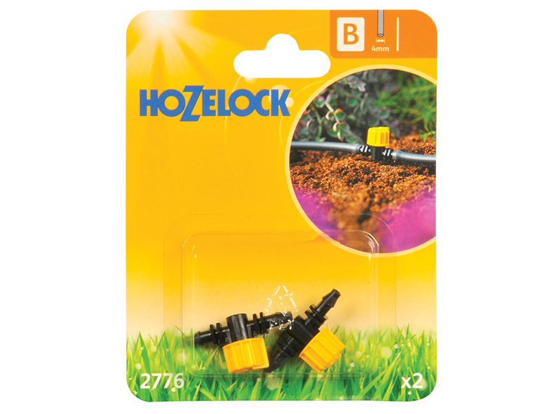 Thumbnail image of Hozelock Flow Control Valve 4mm (2 Pack)
