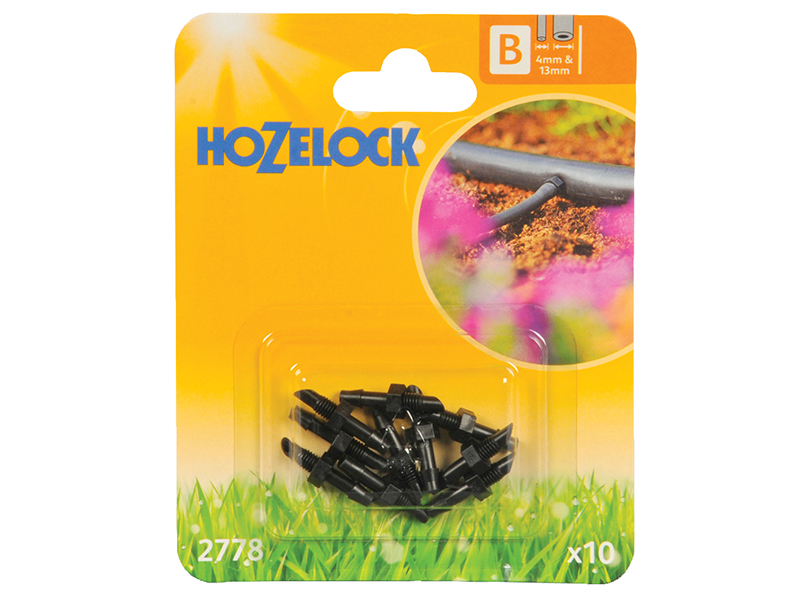 Thumbnail image of Hozelock Straight Connector 4mm (10 Pack)