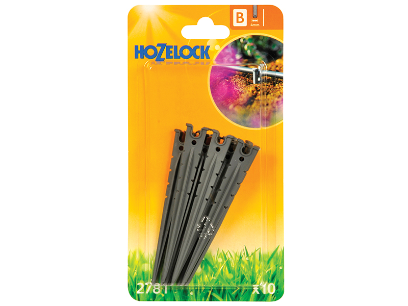 Thumbnail image of Hozelock Micro Tube Stakes 4mm (10 Pack)