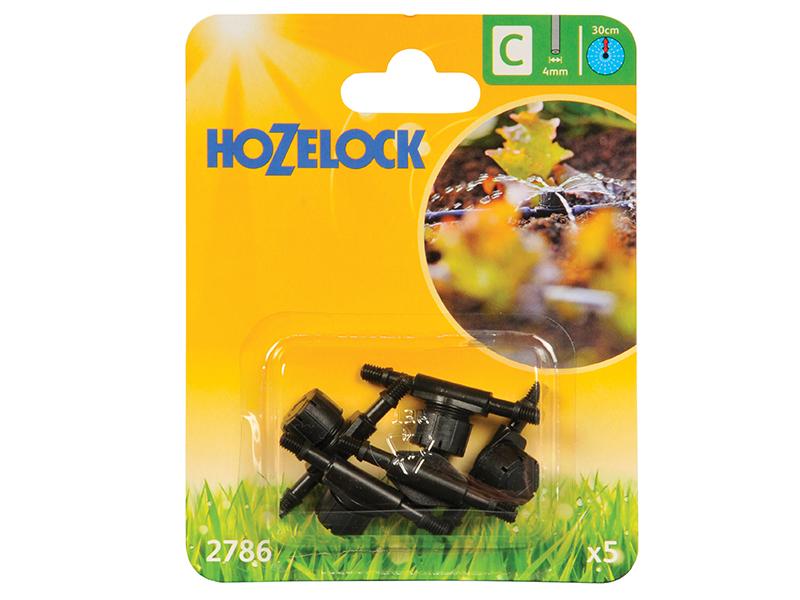 Thumbnail image of Hozelock In Line Adjustable Mini Sprinkler 4mm (5 Pack)