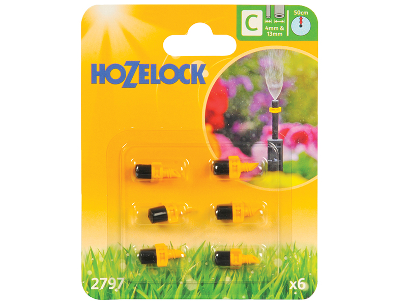 Thumbnail image of Hozelock Mist Micro Jet 4mm/13mm (6 Pack)