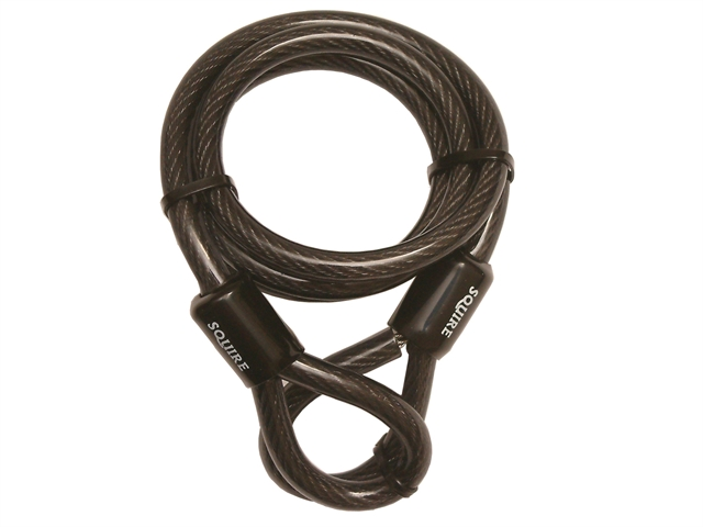 Thumbnail image of Squire 12C Security Cable with Looped Ends 1.8m x 12mm